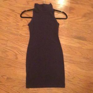 American Apparel Plum Turtleneck Dress Size XS